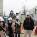 Apprentis photo sur le chantier