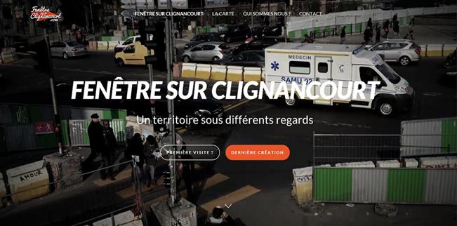 image site fenetre sur clignancourt